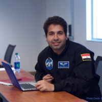 PoSSUM Scientist-Astronaut Candidate Akram Abdelatif (credit: Ross Lockwood)