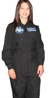 Jonna-modeling-flightsuit