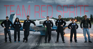 Red Sprite Team with Mooney