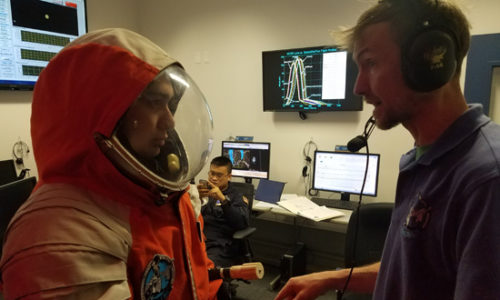 Spacesuit Readiness in Mission Control