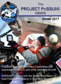 PoSSUM Newsletter Winter 2017 Cover_lores