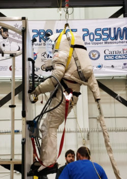microgravity evaluations on Quest Airlock connectors